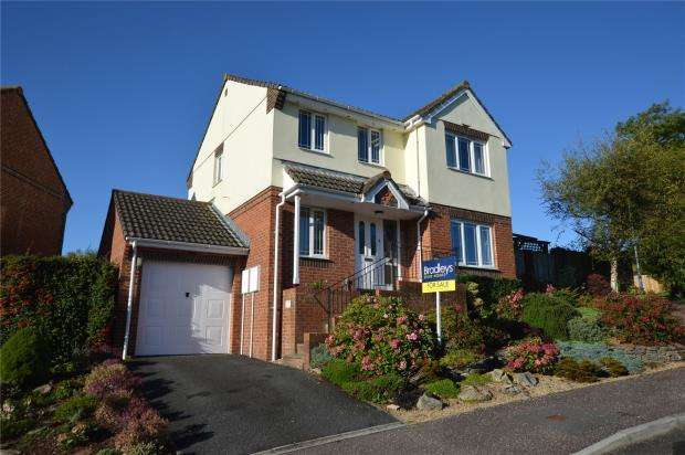 4 Bedrooms Detached House for sale in Heron Road, Honiton, Devon