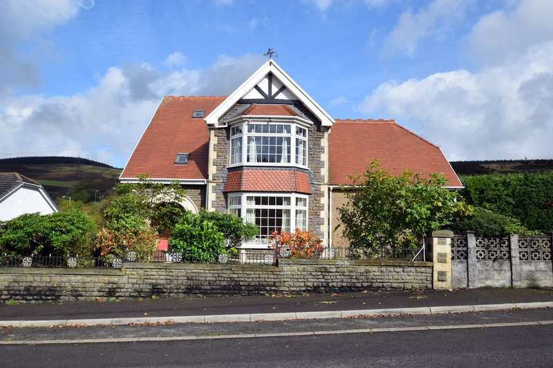 6 Bedrooms Detached House for sale in The Old Vicarage, Bryn, Port Talbot, SA13 2RH.