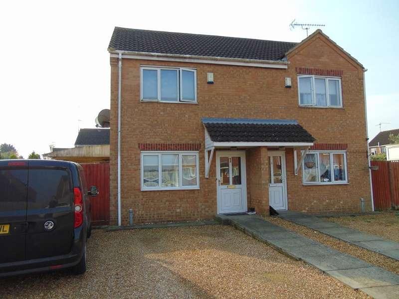 2 Bedrooms Semi Detached House for sale in Myles Way, Wisbech, Cambridgeshire, PE13 3PY