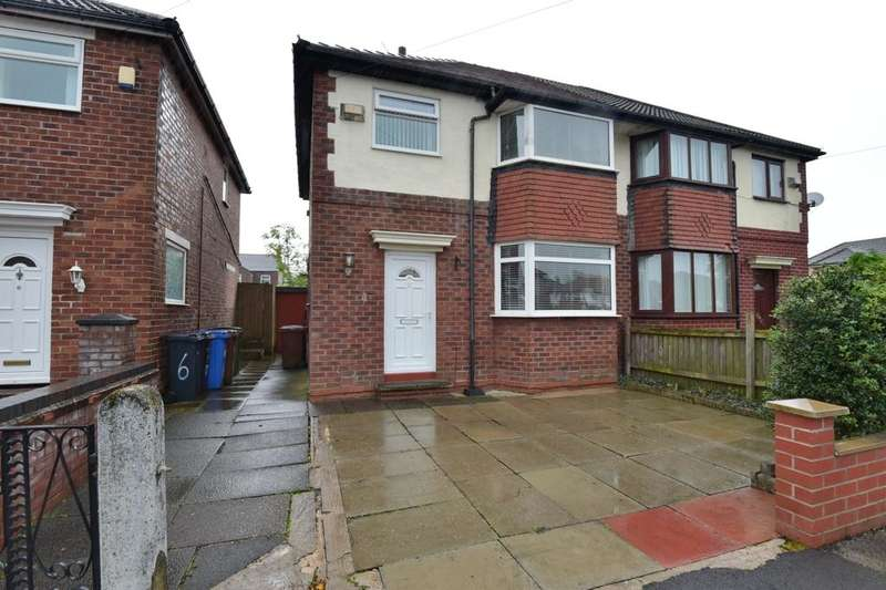 3 Bedrooms Semi Detached House for sale in Naseby Road, Reddish, Stockport, SK5 6EH