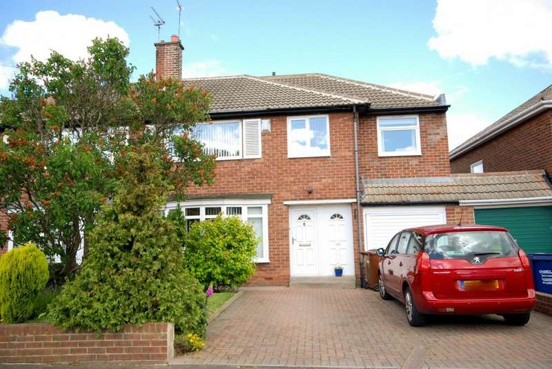 4 Bedrooms Semi Detached House for sale in Regent Farm Road, Gosforth