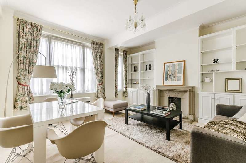 2 Bedrooms Flat for sale in Warwick Gardens, High Street Kensington, W14