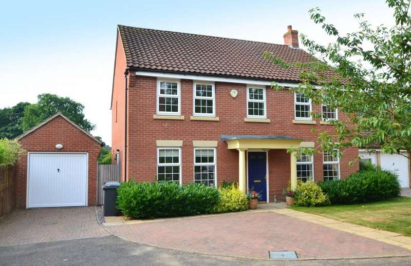 4 Bedrooms Detached House for sale in Stone Lodge Lane, Ipswich, Suffolk, IP2 9PF