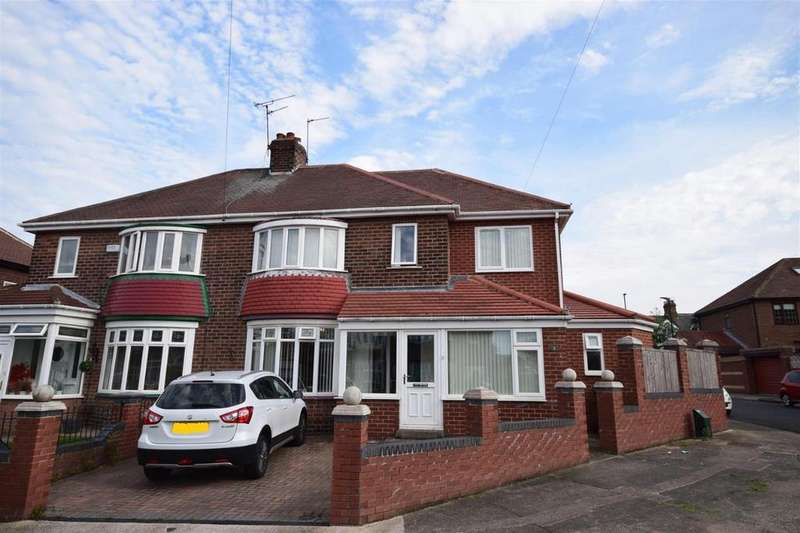 5 Bedrooms Semi Detached House for sale in Ferndene Crescent, Sunderland
