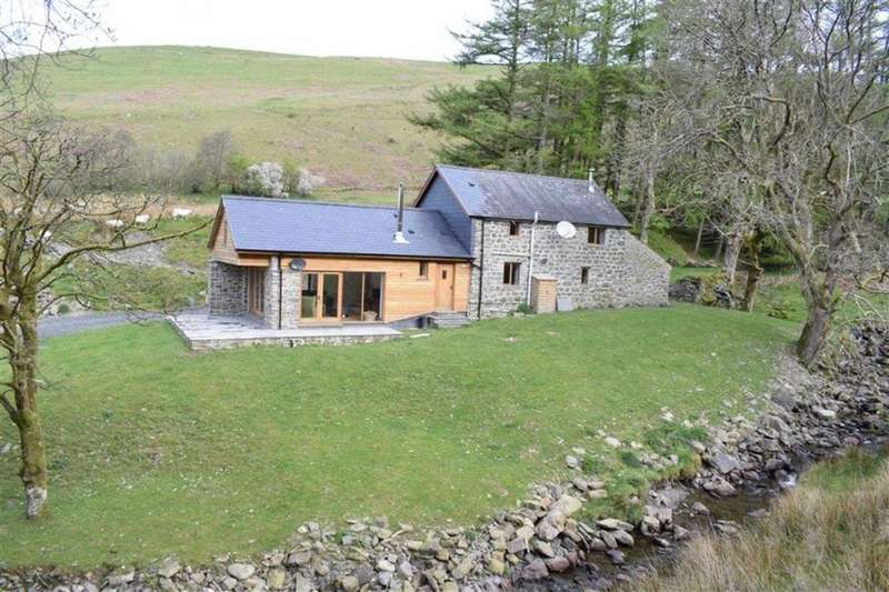 3 Bedrooms Cottage House for sale in Blaen Cwmllinau, Cwmllinau, Machynlleth, Powys, SY20