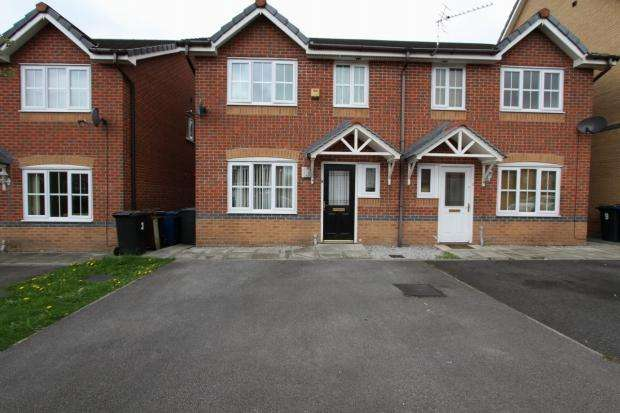 3 Bedrooms Semi Detached House for sale in Maypole Crescent Abram Wigan