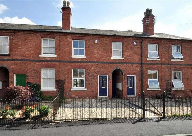 2 Bedrooms Terraced House for sale in 7, Shaw Lane, Albrighton, Wolverhampton, Shropshire, WV7