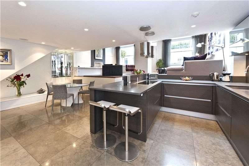 2 Bedrooms Mews House for sale in Holland Park Mews, Holland Park, Kensington, London, W11