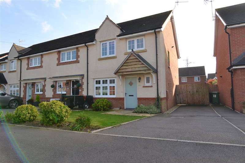 3 Bedrooms End Of Terrace House for sale in Reed Drive, Stafford