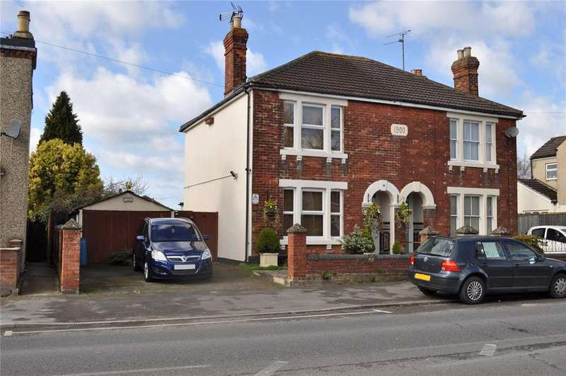 3 Bedrooms Semi Detached House for sale in Cheney Manor Road, Swindon, Wiltshire, SN2