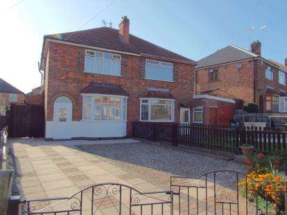 3 Bedrooms Semi Detached House for sale in Mavis Avenue, Leicester, Leicestershire