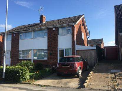 3 Bedrooms Semi Detached House for sale in Winslow Drive, Wigston, Leicestershire