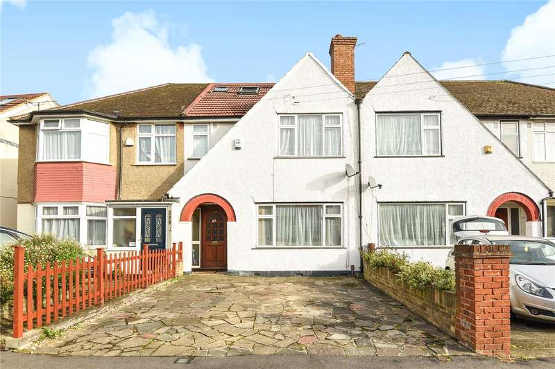 4 Bedrooms Terraced House for sale in Granville Road, Hillingdon, Middlesex, UB10