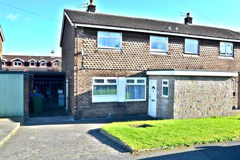 3 Bedrooms Semi Detached House for sale in Greenbank Road, Gatley