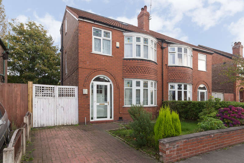 4 Bedrooms Semi Detached House for sale in Woodlands Road, Heaton Mersey