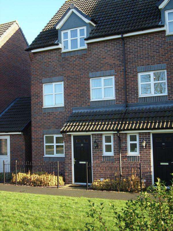 3 Bedrooms Semi Detached House for rent in 50 College Green Walk, Derby