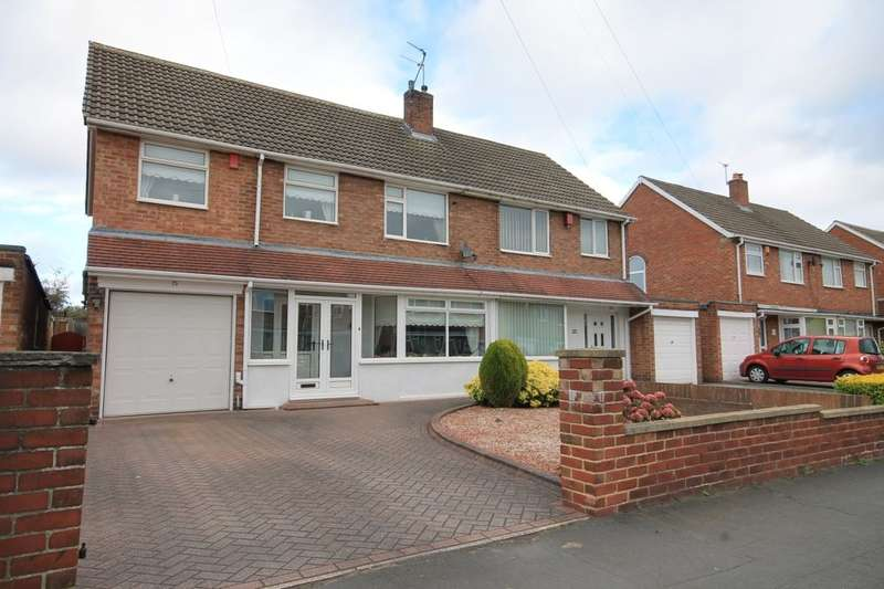 4 Bedrooms Semi Detached House for sale in Lombard Drive, Chester Le Street, DH3
