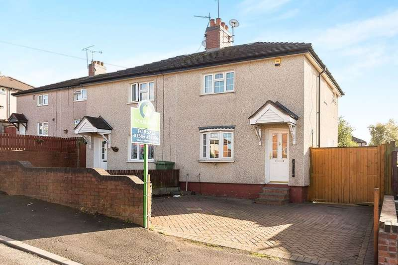 2 Bedrooms Semi Detached House for sale in Gorse Road, Dudley, DY1