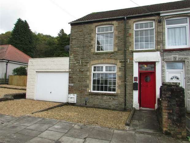 3 Bedrooms Semi Detached House for sale in Mount Pleasant, Tonna, Neath, West Glamorgan
