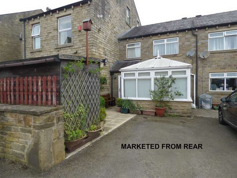 3 Bedrooms Semi Detached House for sale in Leymoor Road, Golcar, Huddersfield