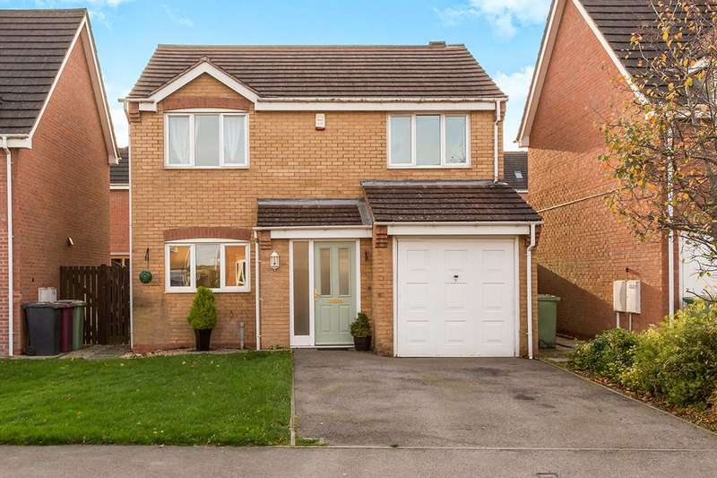4 Bedrooms Detached House for sale in Worcester Close, Clay Cross, Chesterfield, S45