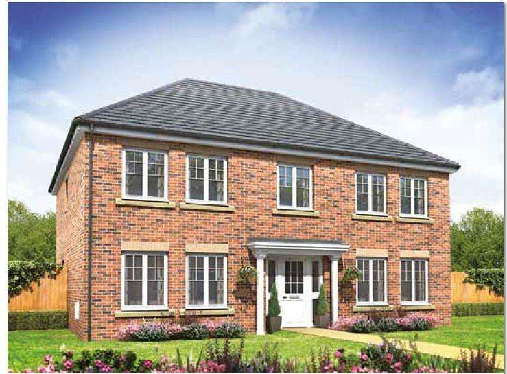 4 Bedrooms Detached House for sale in The Portland, Bramley