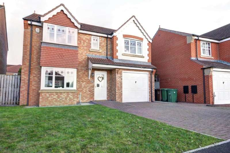 5 Bedrooms Detached House for sale in Weymouth Drive, Houghton Le Spring, DH4