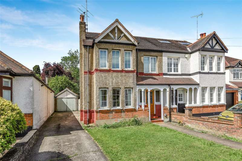 4 Bedrooms Semi Detached House for sale in The Crescent, Loughton, Essex, IG10