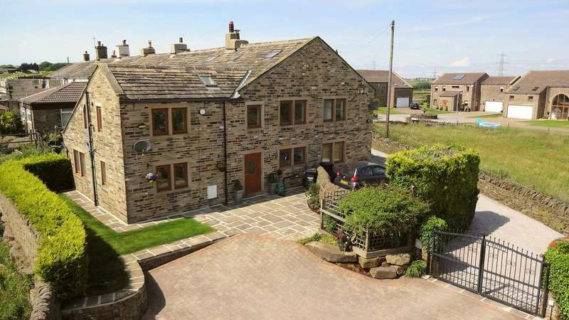 5 Bedrooms Semi Detached House for sale in Croft House, Pepper Hill, Halifax HX3