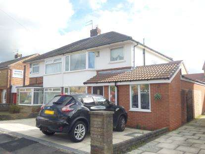 3 Bedrooms Semi Detached House for sale in Kendal Drive, Rainhill, Merseyside, L35