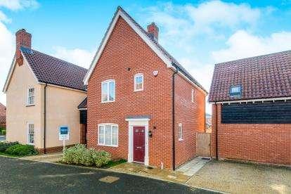 3 Bedrooms Link Detached House for sale in Little Plumstead, Norwich, Norfolk