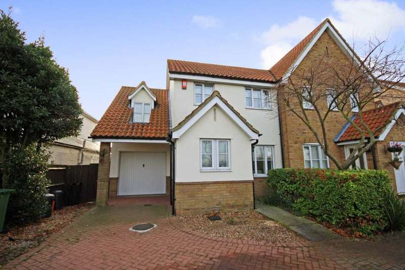 3 Bedrooms Semi Detached House for sale in Wash Road, Noak Bridge