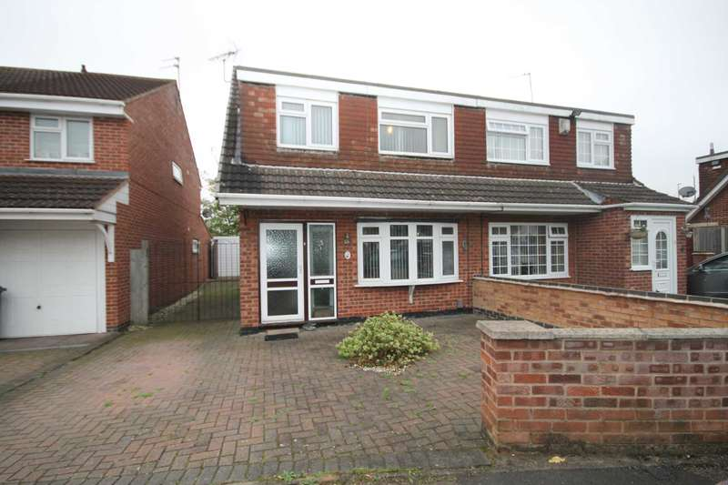 3 Bedrooms Semi Detached House for sale in Archer Close, Rushey Mead