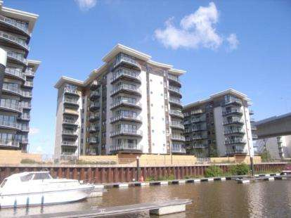 2 Bedrooms Flat for sale in Catrine, Victoria Wharf, Watkiss Way, Cardiff