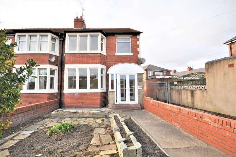 3 Bedrooms End Of Terrace House for sale in Kingscote Drive, Layton, Blackpool, Lancashire, FY3 7EW