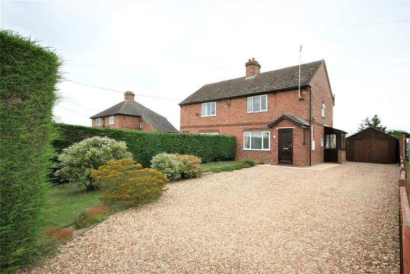 3 Bedrooms Semi Detached House for sale in Beck Bank, Quadring Fen, PE11
