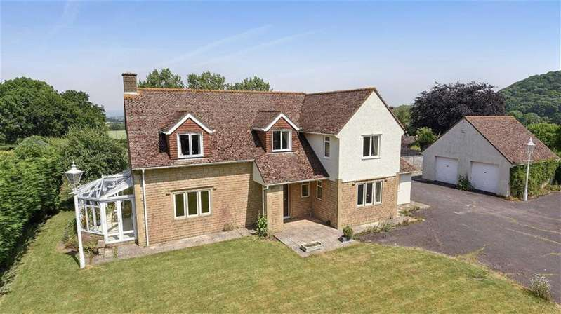 4 Bedrooms Detached House for sale in Curdleigh Lane, Blagdon Hill, Taunton, Somerset, TA3