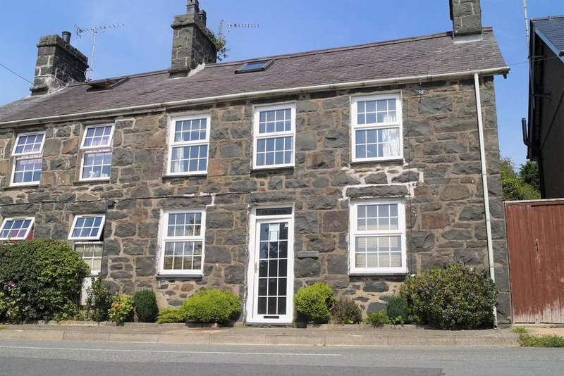 3 Bedrooms Semi Detached House for sale in Sarn, Pwllheli