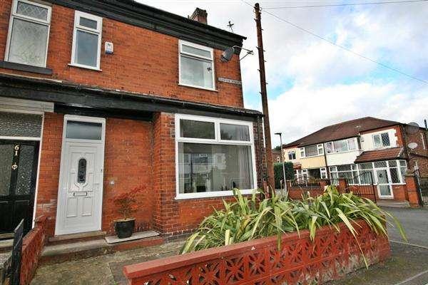 3 Bedrooms End Of Terrace House for sale in Egerton Street, Prestwich
