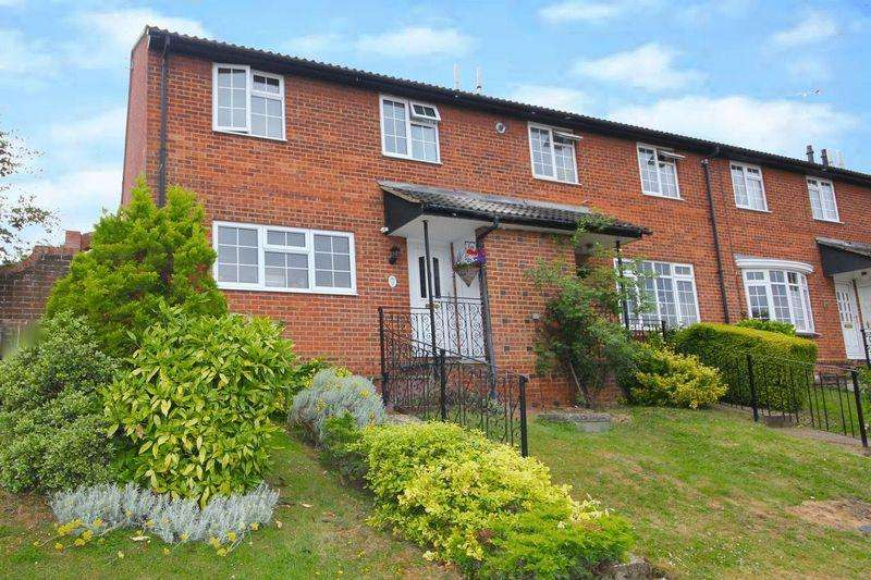 3 Bedrooms End Of Terrace House for sale in London Road, Markyate **** CONSERVATORY GARAGE ****