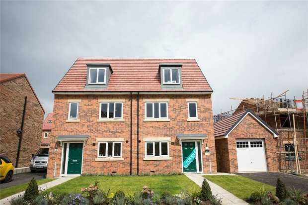 3 Bedrooms Semi Detached House for sale in *The Benedict - Plot 71 - Ready January*, Eden Field, Newton Aycliffe, Durham