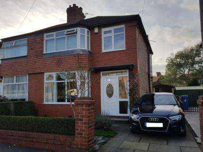3 Bedrooms Semi Detached House for sale in Dale Grove, Timperley, Altrincham, Greater Manchester