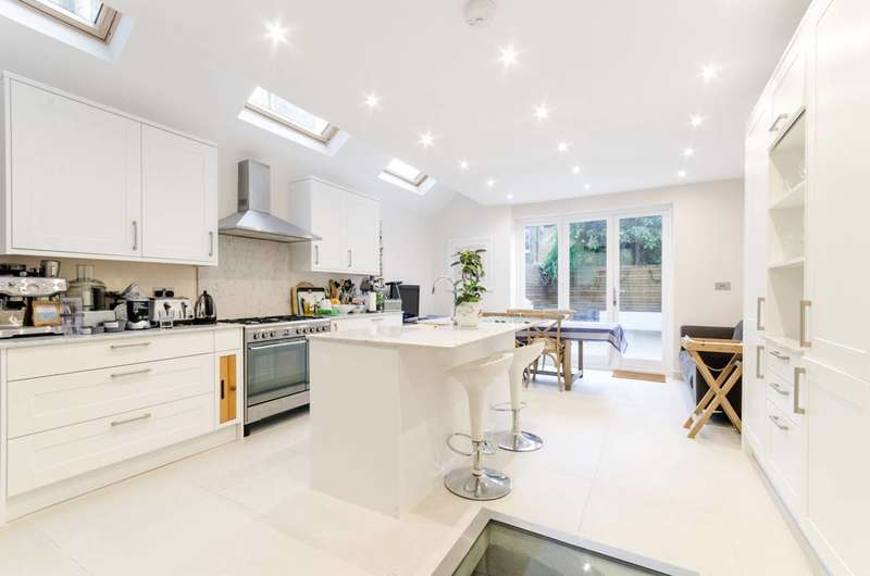 4 Bedrooms Terraced House for sale in Beltran Road, South Park, SW6