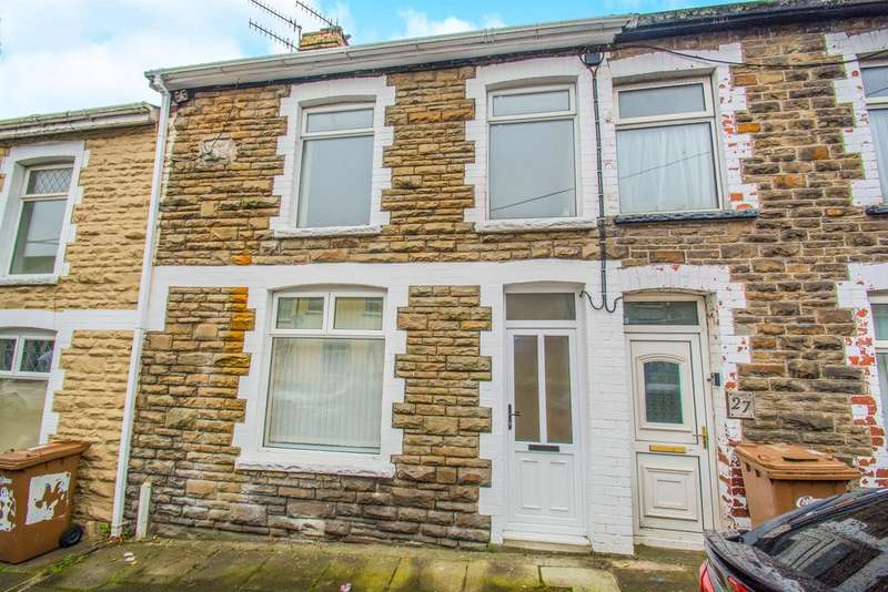 3 Bedrooms Terraced House for sale in Heolddu Road, Bargoed