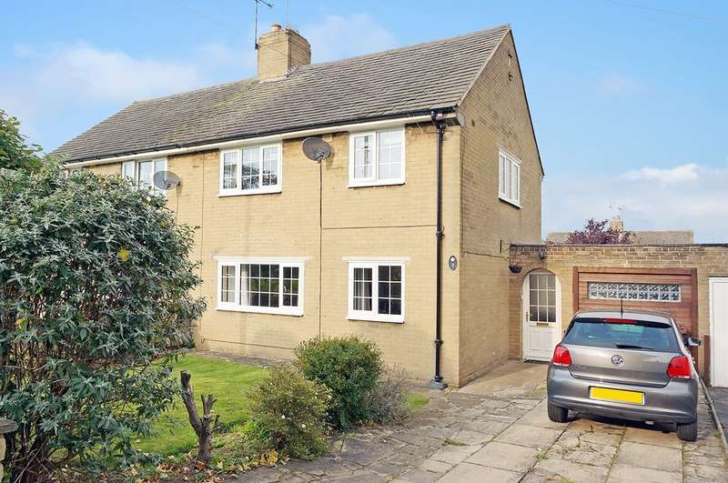 2 Bedrooms Semi Detached House for sale in Queens Road, Boston Spa, Wetherby, LS23 6NN