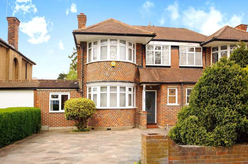 3 Bedrooms Semi Detached House for sale in Deane Croft Road, Pinner, Middlesex, HA5