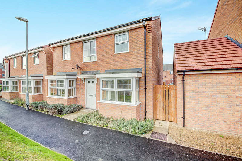 4 Bedrooms Detached House for sale in Bellister Court, Blyth, NE24