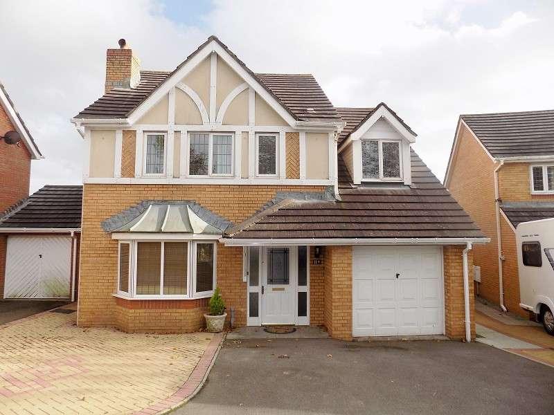 4 Bedrooms Detached House for sale in Dan Y Deri , Broadlands, Bridgend. CF31 5BG
