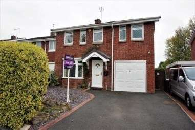 4 Bedrooms Detached House for sale in Norbury Close, Gnosall, Stafford