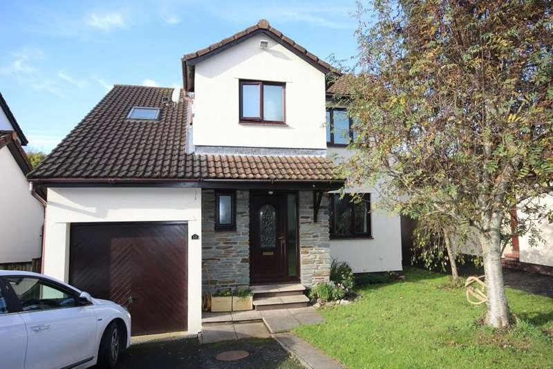 4 Bedrooms Detached House for sale in Hunterswell Road, Newton Abbot